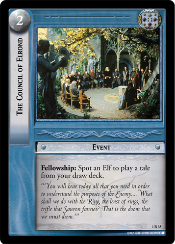 1R035 The Council of Elrond