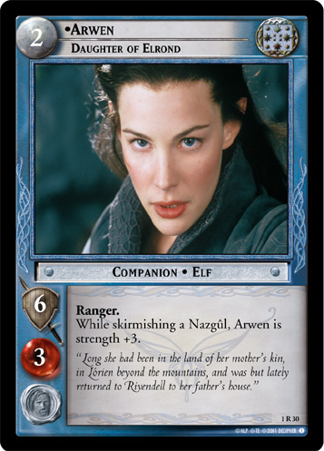 1R030 •Arwen, Daugther of Elrond