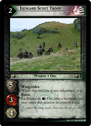 05-UC20 Battle Of Helm's Deep Uncommon Set