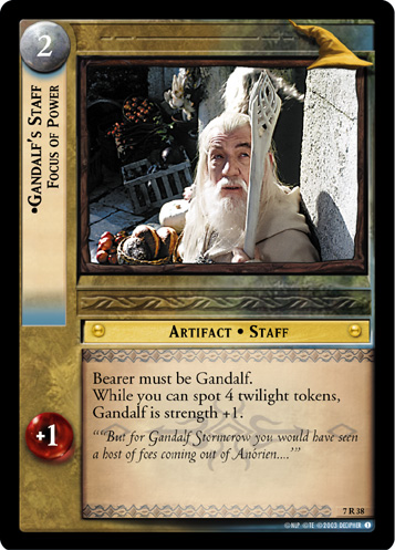 7R038 •Gandalf's Staff, Focus of Power