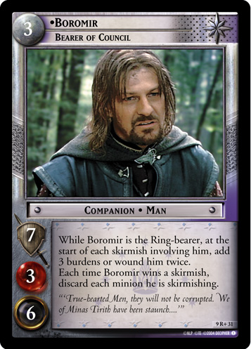 9R+031 •Boromir, Bearer of Council