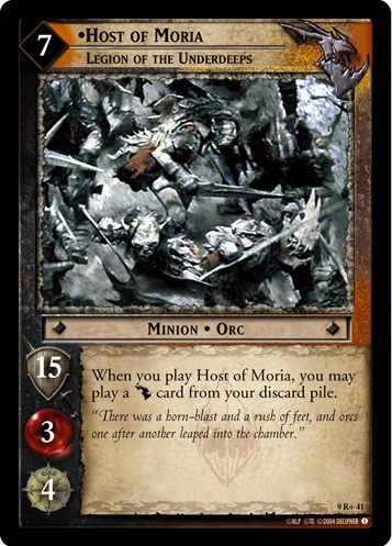 9R+041 •Host of Moria, Legion of the Underdeeps