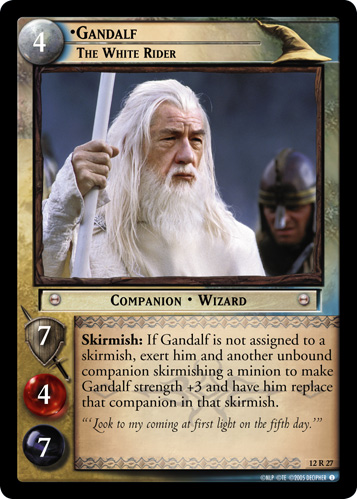 12R027 •Gandalf, The White Rider