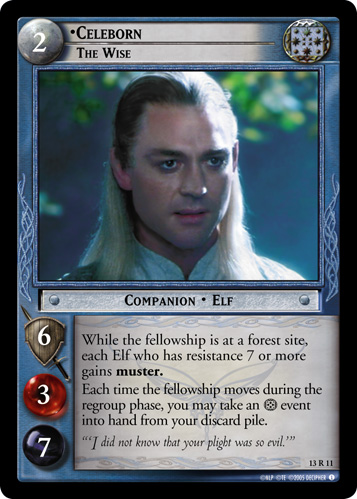 13R011 •Celeborn, The Wise