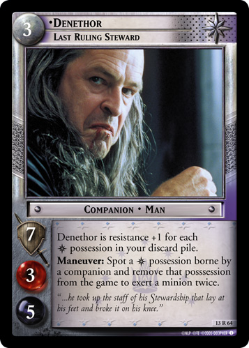 13R064 •Denethor, Last Ruling Steward