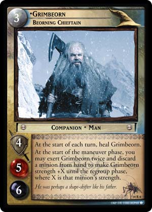 14R006 •Grimbeorn, Beorning Chieftain