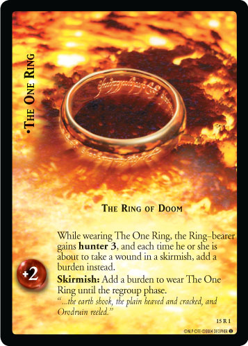 15R001 •The One Ring, Ring of Doom