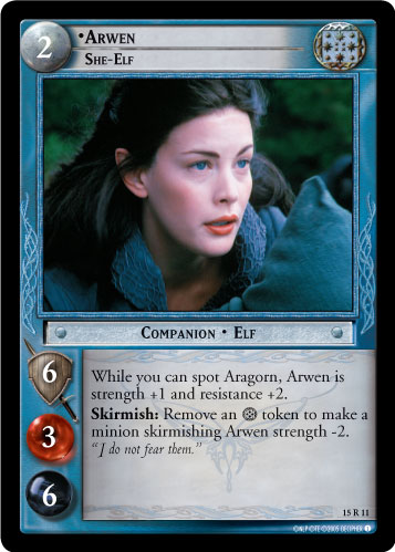 15R011 •Arwen, She-Elf