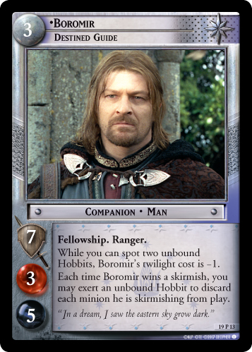 19P013 •Boromir, Destined Guide