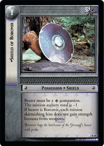 2R038 •Shield of Boromir