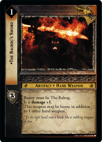 2R050 •The Balrog's Sword