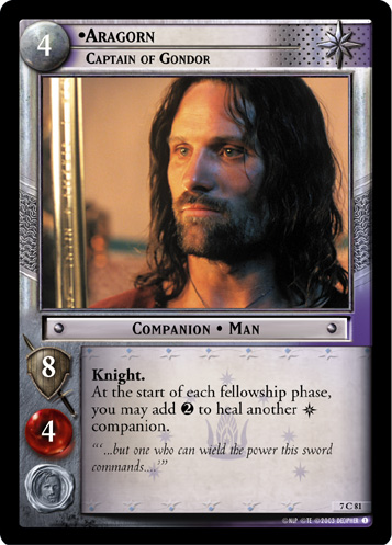 7C081 •Aragorn, Captain of Gondor