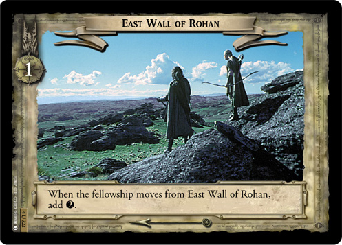 4U323 East Wall of Rohan